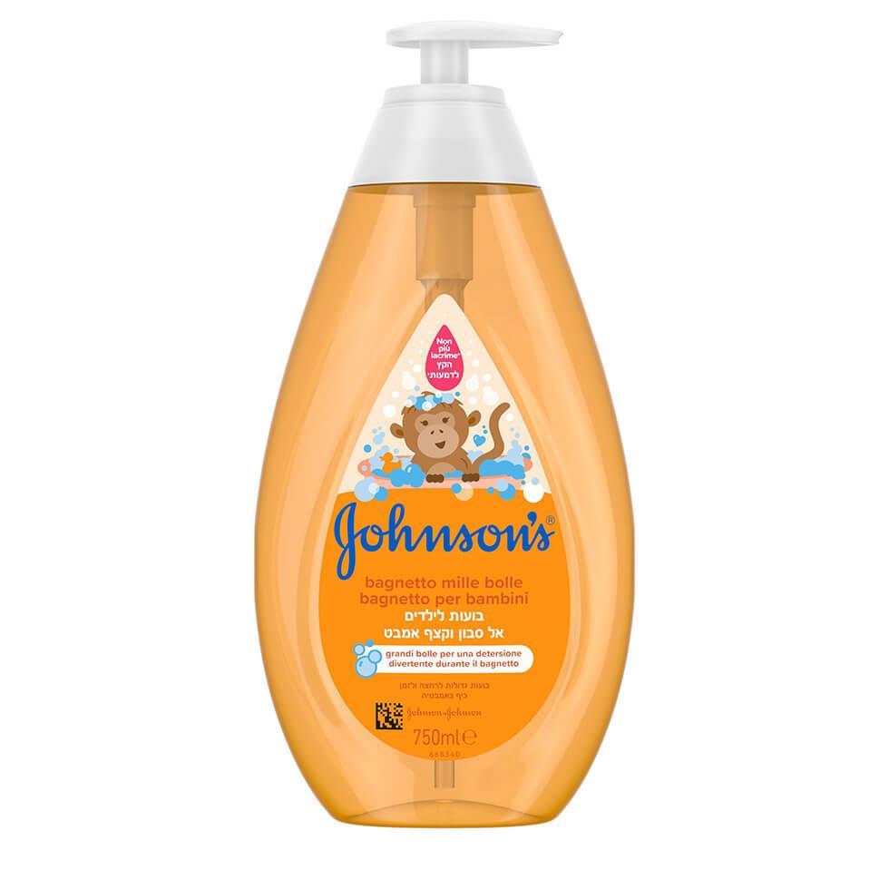 Johnson's® Gel de duș spumant pentru copii