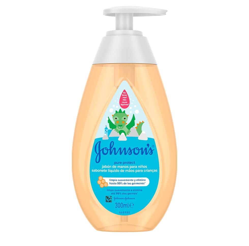 Johnson's® Săpun Lichid pentru copii Pure Protect